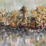 Fall in Augusta by: June Klement,Oil, 9