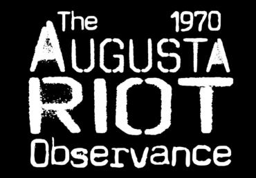 The 1970 Augusta Riot Observance logo