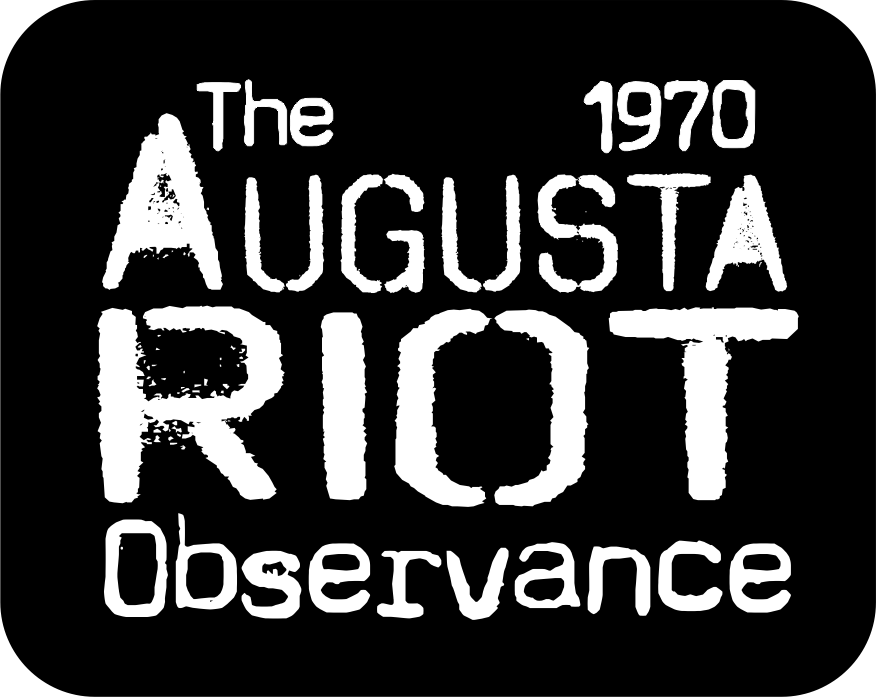 The 1970 Augusta Riot Observance logo