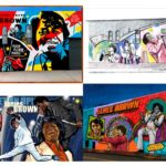 James Brown Mural finalists composite image