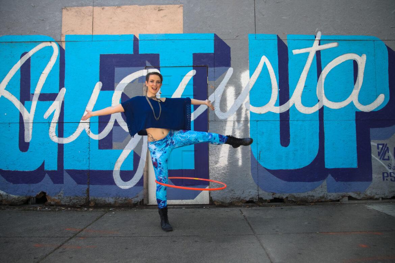 Christina Berkshire hooping